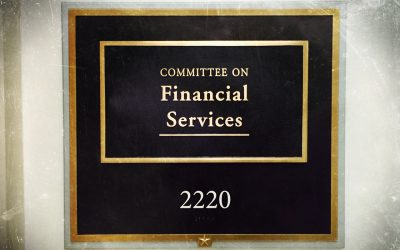 House Financial Services Committee To Hold Eight Hearings in February