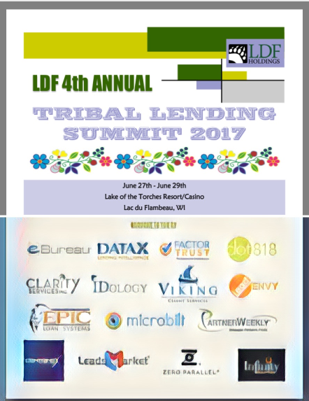 NAFSA leadership at LDF Tribal Lending Summit