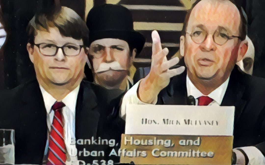 Senate Banking Takes Turn Questioning Mulvaney on New Look CFPB