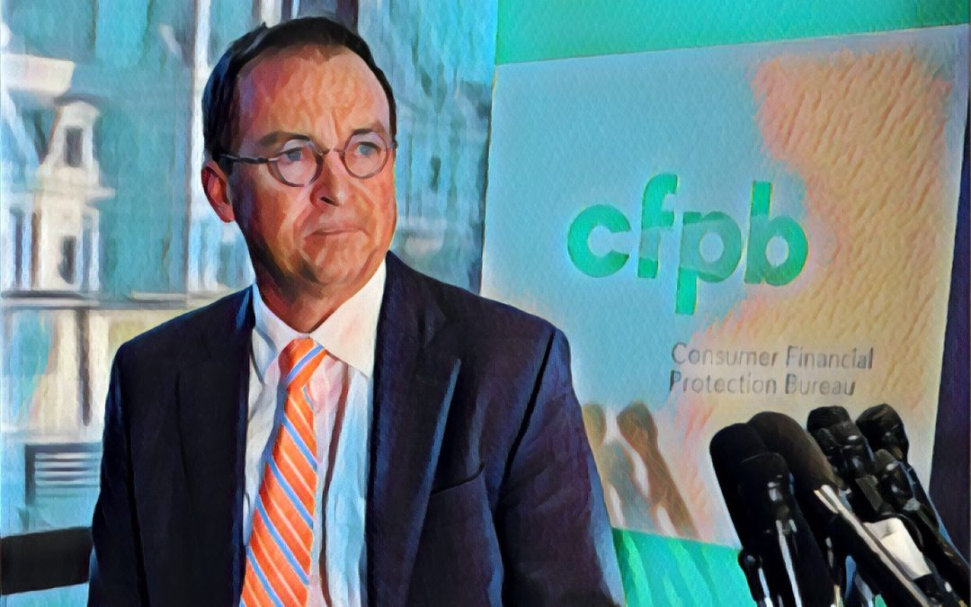 Mulvaney's Last Act at the CFPB