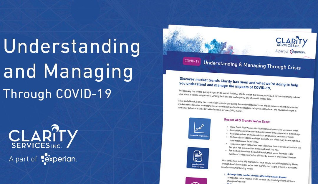Understanding & Managing Through COVID-19